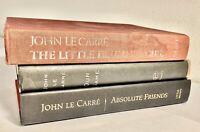 Lot of 3 Suspense/Espionage Books by John Le Carre...HB/PB, 1st Eds.