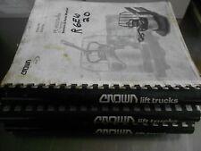 Crown Forklift Service & Parts Manuals - Pe Series (3000 & 4500 Ac)