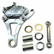 Springer Brake Caliper Chrome Left Side Moto Iron Front End harley Paughco dna