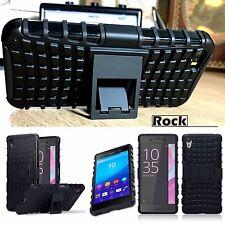 Original Sony Xperia X Rugged Case Military Tech Survival Industrial Rock Black
