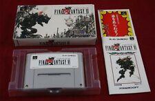 Super Famicom: final Fantasy VI 6-Square 1994