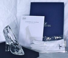 NEW Disney Cinderella Slipper Swarovski Crystal LE 400 Glass Shoe Figurine #276