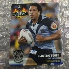 Nrl Rugby League 2006 Hot Shot Standard Tazo 30 Clinton Toopi Tazos Cards