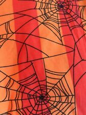 lularoe TC Orange W Black. Cobwebs 🕷
