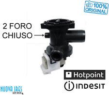 INDESIT ARISTON POMPA SCARICO ACQUA LAVATRICE CON FILTRO ORIGINALE C00119307