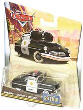 DISNEY PIXAR CARS Personaggio Sceriffo Road Trip 1:55 Die Cast - Mattel DXN89