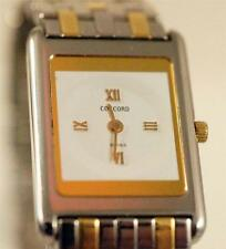 LADIES CONCORD DELIRIUM TWO TONE 18KT YELLOW GOLD AND STAINLESS STEEL WATCH