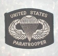 "United State Paratrooper Patch -  3 1/2"" x 3"""
