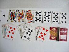 JEU 32 CARTES DOMAINE TRINTIGNANT VIN CHATEAUNEUF DU PAPE / HÉRON PLAYING CARDS