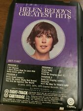 Helen Reddy's Greatest Hits Capitol 8 track Bxt 11467 tested