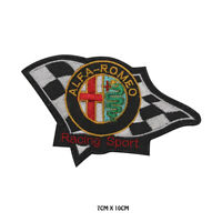 Alfa Romeo Racing Sport Embroidered Iron on Patch Sew On Badge