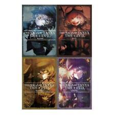 THE SAGA OF TANYA THE EVIL Fantasy Series by Carlo Zen Book Set LIGHT NOVELS 1-4