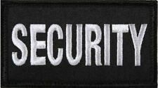 "Black & White Security Hook Patch 1-7/8"" x 3-3/8"""