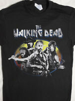 The Walking Dead TWD Tv Show Michonne Daryl Dixon Rick Grimes Carl T-Shirt