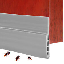 1m Under Door Sweep Weather Stripping Sliding Stoppers Seal Strip Wind Stoppers