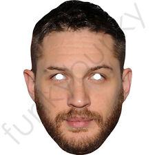 Tom Hardy actor británico Celebridad Tarjeta Máscara Facial-todas nuestras máscaras son pre-corte!