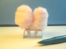Dollhouse Miniature 2 Cotton Candy with Stand