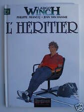 LARGO WINCH - L'HERITIER - réed 1995 TBE