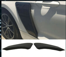 GT Style Rear Hood Fender Side Door Scoops Guard PP For 2015-2017 Ford Mustang
