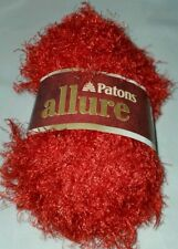 SKEIN/BALL OF (DISCONTINUED) PATONS ALLURE YARN - GARNET