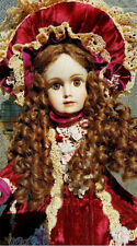 ANTIQUE REPRODUCTION HALOPEAU H GILLIAN PATRICIA LOVELESS PORCELAIN DOLL NRFB