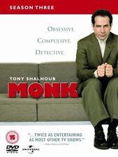 Monk Season 3 DVD R4
