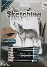 New listing Royal & Langnickle easy schetching set 8pcs    ( Last One, Close Out Final)