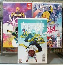 Nova #1 2 3 Marvel Now! - Loveness Perez Herring Marvel Comics Vf+ / Nm @