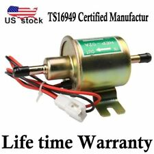 HEP-02A Low Pressure Universal 12V Electric Fuel Pump Inline Petrol Gas Diesel
