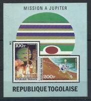 "Togo Bloc N°79** (MNH) 1974 - Mission""Pionnier"" à Jupiter"