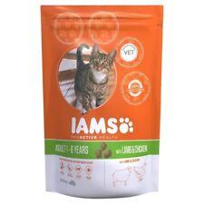 Iams Adult Dry Cat Food Lamb 800g (PACK OF 6)