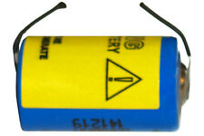 3.6 Volt 1/2 AA 1200 mAh Primary Lithium Battery with Tabs (LS14250 & ER14250)