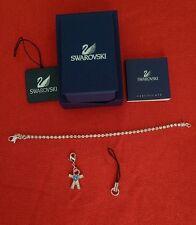Authentic Swarovski 3 way crystal bracelet Blue Heart