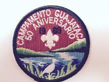 BSA PUERTO RICO CAMPAMENTO GUAJATAKA 50 ANIVERSARIO 1988-VINTAGE