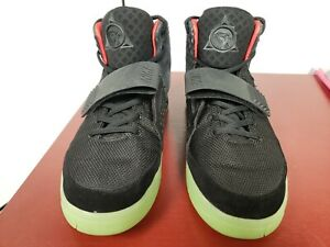 Exitoso sistema Aprovechar  Nike Air Yeezy 2 Black Solar Red for sale | eBay