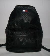 NWT Tommy Hilfiger Womens Jacquard Backpack Black $108
