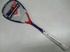 **NEW OLD STOCK** TECNIFIBRE CARBOFLEX 125 NS X-SPEED PRE-STRUNG SQUASH RACQUET