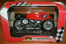 GEOFF DUKE GILERA 500 1954 PROTAR 1:22 IXO Motorbike - Rare