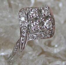 wow☺Ring in aus 585 Weiß Gold mit ✨0,24 ct.✨ Brillant Brillanten diamant Diamond