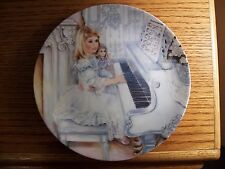 """Knowles Collector Plate """"Jesus Loves Me, This I Know"""" Corinne Layton"""