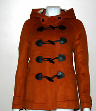 Burberry Brit Yorkdale Hooded Toggle Swing Coat Size 4