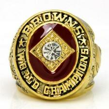 1964 Jim Brown CLEVELAND BROWNS Championship Ring size 11