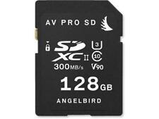 Angelbird AV PRO SD 128GB UHS-II SDXC Internal Memory Card for Cameras #AVP128SD