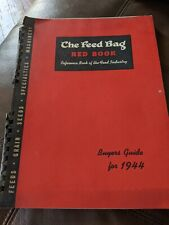 Vintage agriculture The Feed Bag Buyers Guide For 1944