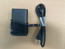 USED Genuine Dell Latitude Laptop Slim 65-Watt AC Power Adapter and Charger Cord