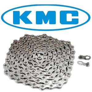 KMC X12 12 Speed Chain 126 Links Mountain Fat Bike Silver fits Sram Eagle/ Campy