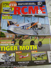 RCM&E MODEL FLYING OCTOBER 2015 Me163 KOMET PLAN TIGER MOTH BAMBINO PARK FLYER