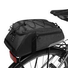Roswheel Essential Series 8ltr Rear Rack Bag waterproof trunk pannier bike cycle