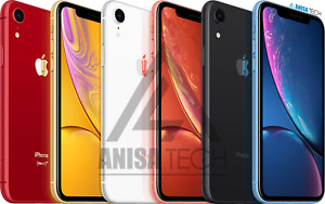 🔥 Apple iPhone XR Unlocked 64GB 128GB 256GB SIM Free - All Colours All Networks