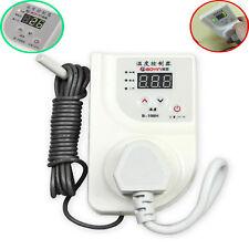 LED Reptile Thermostat Aquarium Timer Cooling Heating Temp Controller & US Plug